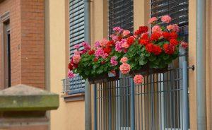 Die Balustrade für den Balkon